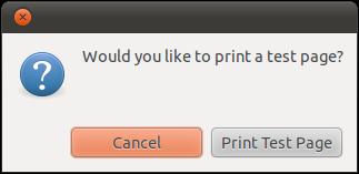 Test print to PDF