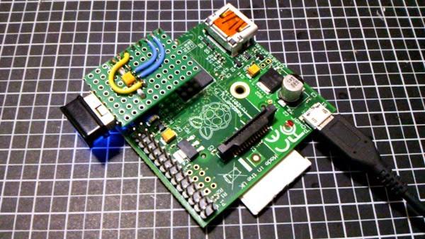Placa em funcionamento com dongle wifi