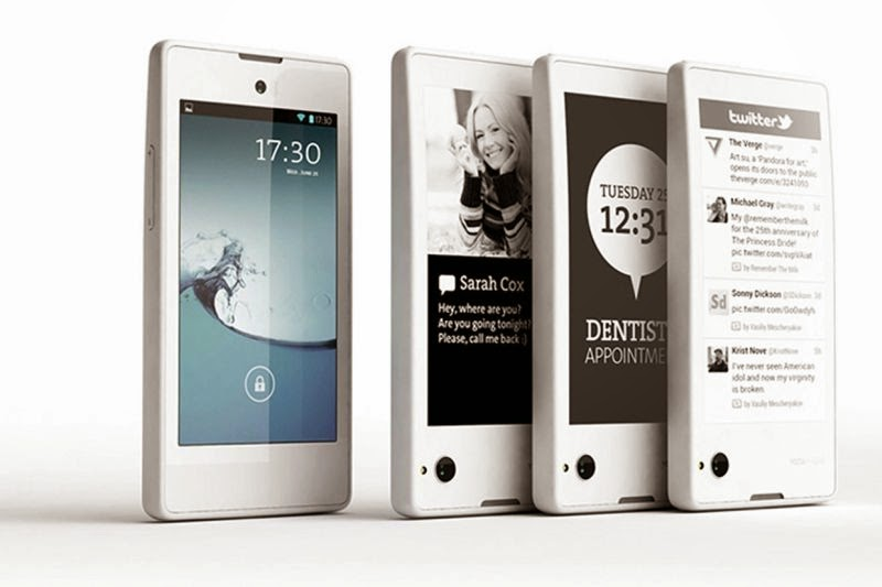 2015, YotaPhone 2 Smartphone Duo-Layar Rilis di Seluruh Dunia