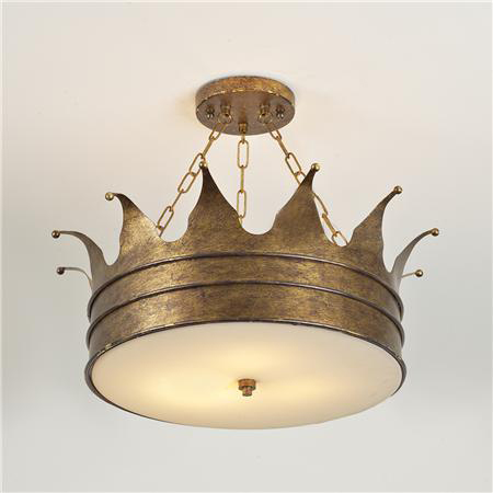 Aesthetic oiseau fit for a prince for Nursery ceiling light fixture