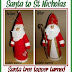Turn a Santa Tree Topper into a St. Nicholas Doll