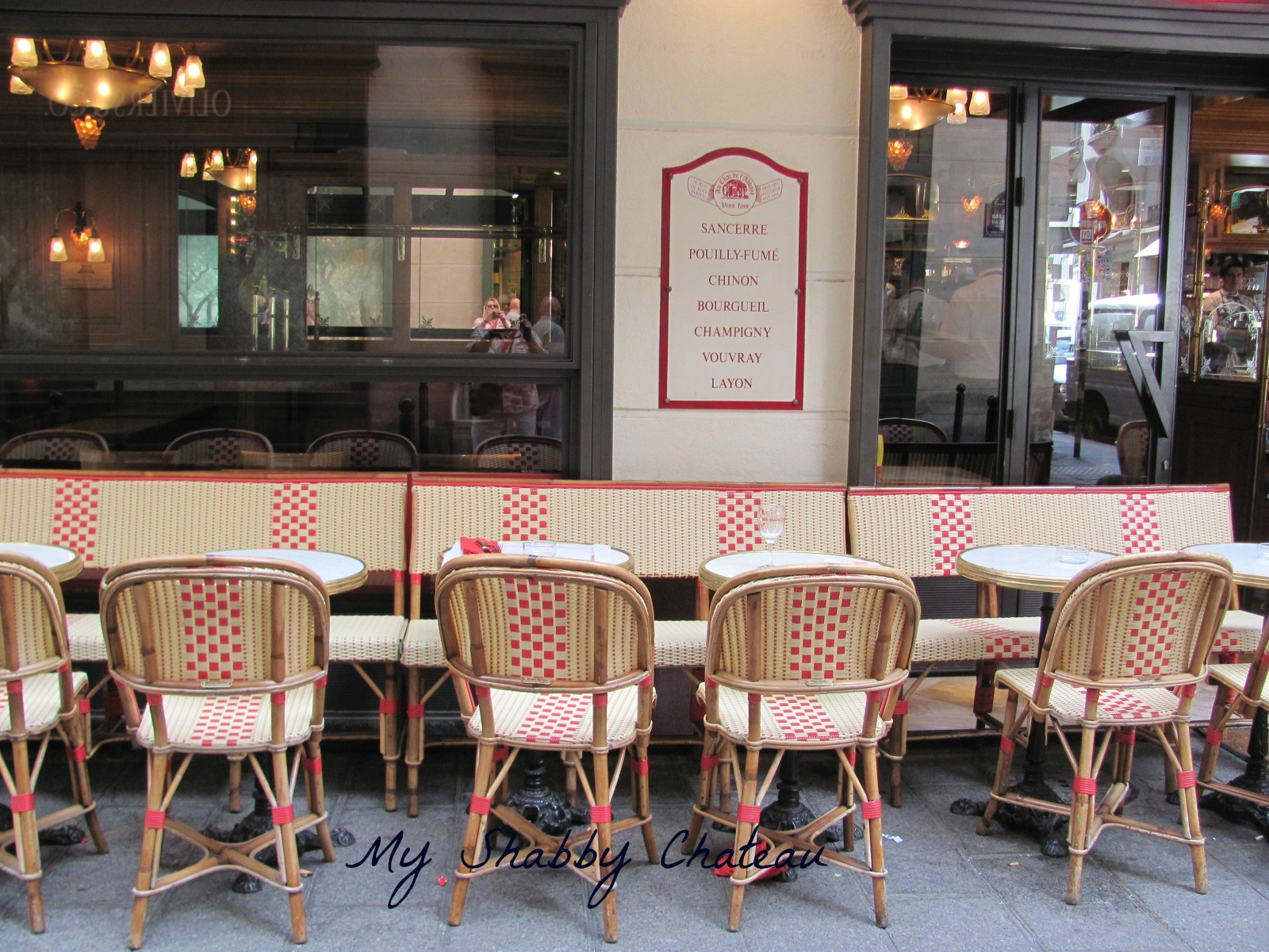 Saturday  September 29  2012My Shabby Chateau  Paris Street Scenes. French Bistro Chairs Toronto. Home Design Ideas