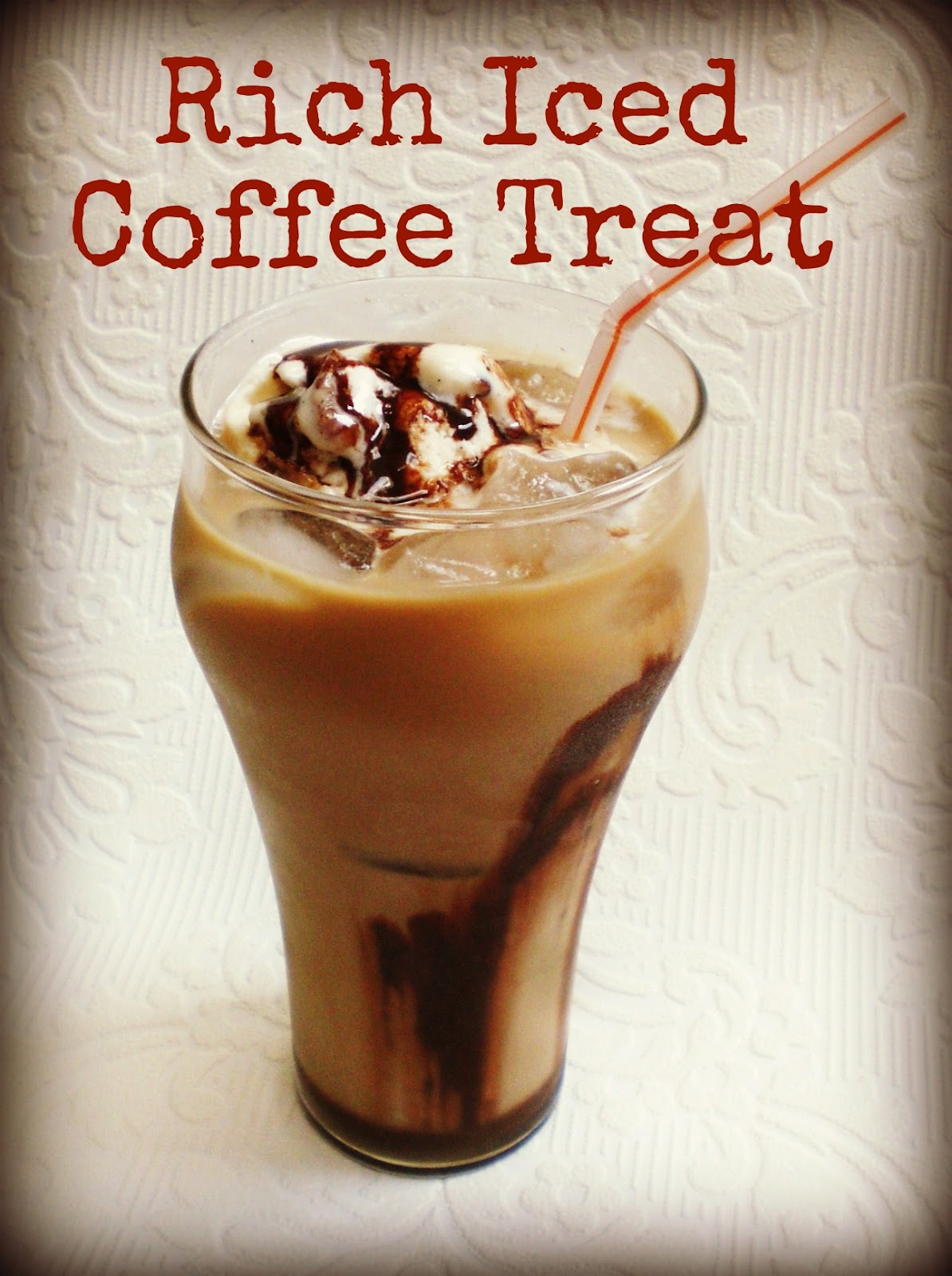 Coffee And Treats ~ Warrior girl rowena murillo rich iced coffee treat and