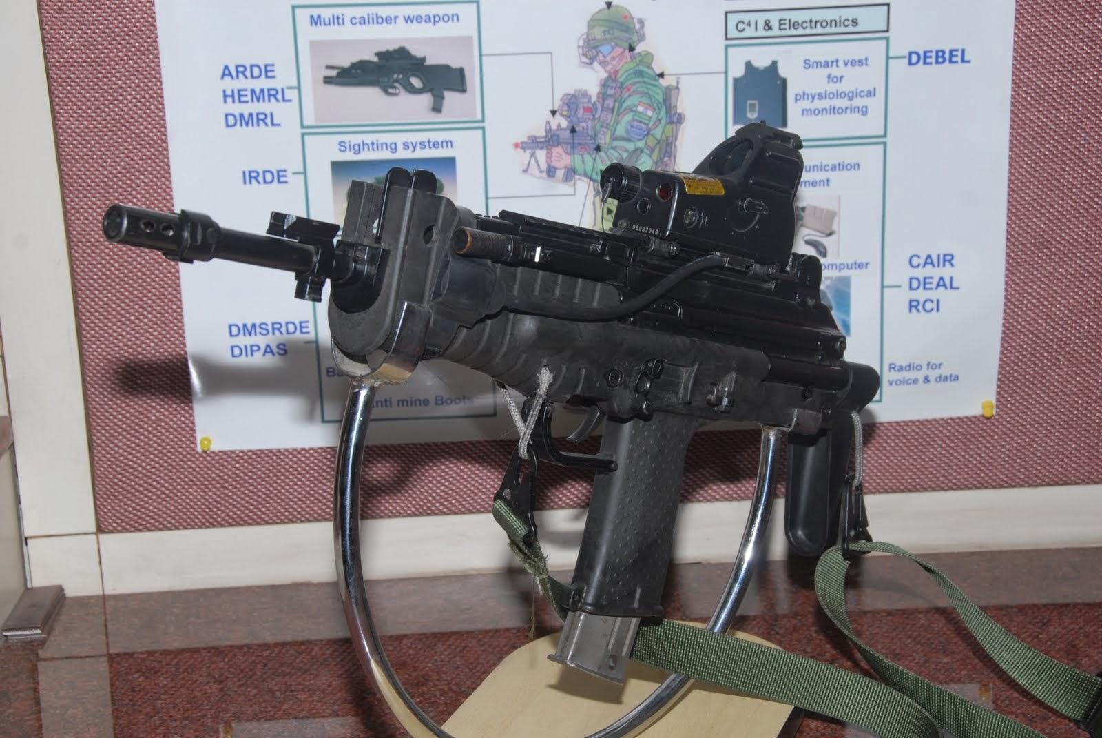 Fuerzas Armadas de la República de la India India's+Modern+Submachine+Carbine+(MSMC)+(3)
