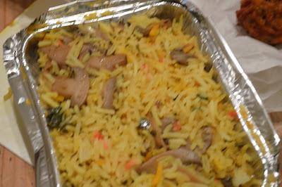 Mountsorrel Spice Cube Mushroom Rice