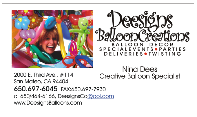The very best balloon blog benefits of business cards as for Balloon decoration business