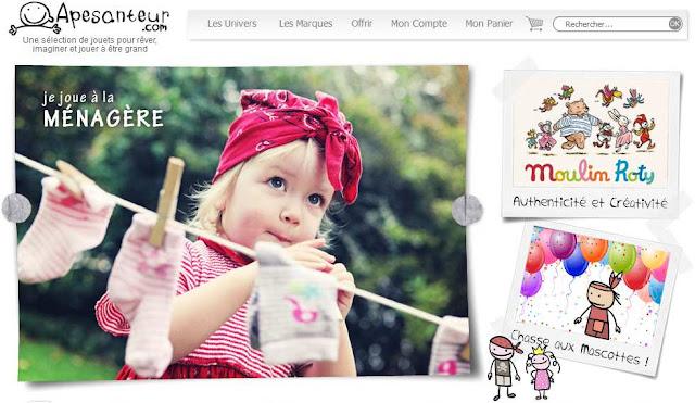 1000 € de bons d'achat à gagner avec Apesanteur.com boutique de jouets