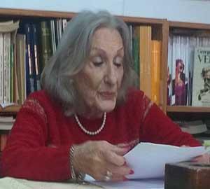 Prof. Nora de Fasani, historiadora del partido de General San Martín.