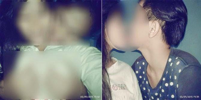 Foto Hot remaja pamer ciuman & gerayangi dada bikin heboh