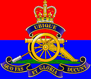 Royal Canadian Artillery crest.