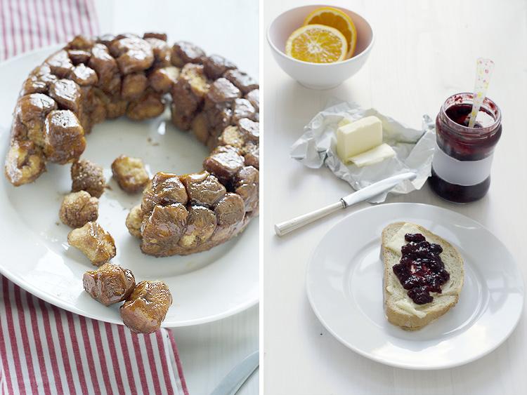 monkey+bread+collage Monkey Bread. Receta   #díadelaEspelta #unregaloparaFent