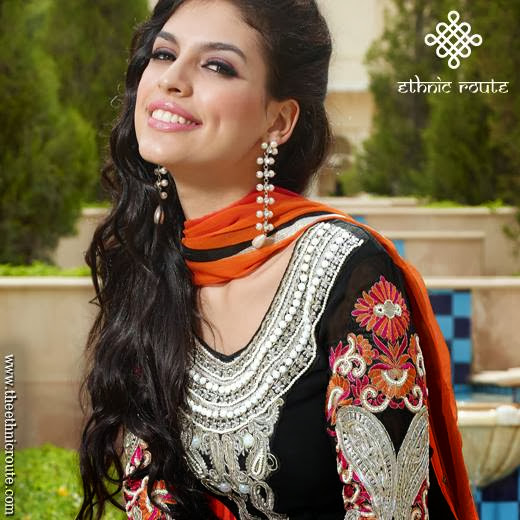Indian Party Wear Dresses 2013-14 For Girl