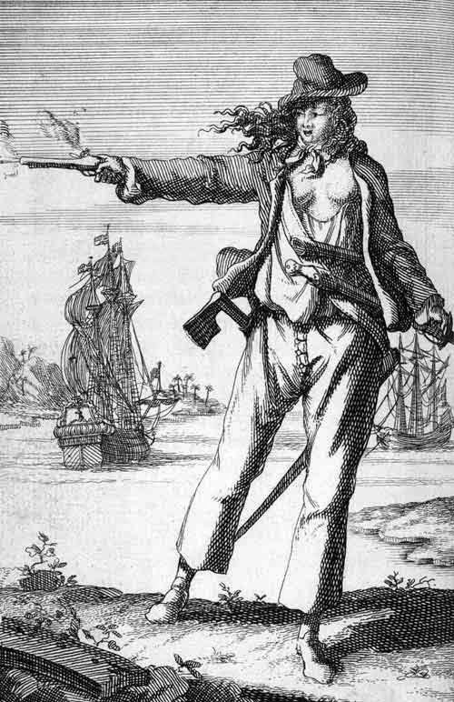 ¿Existieron mujeres piratas
