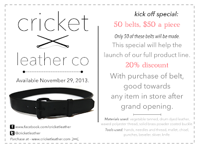Cricket Leather Co. | Kick Off Special