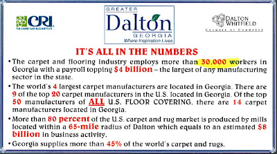 Carpet Industry Impact on Georgia Economy: 11th Annual Georgia Legislative Reception