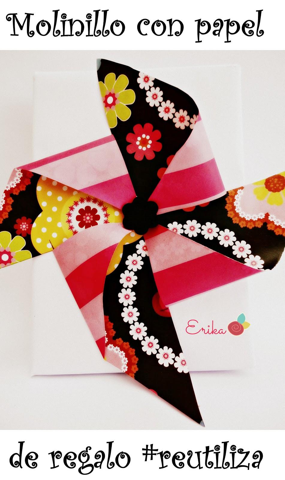 Reciclando con erika molinillos para decorar regalos - Decorar paredes reciclando ...
