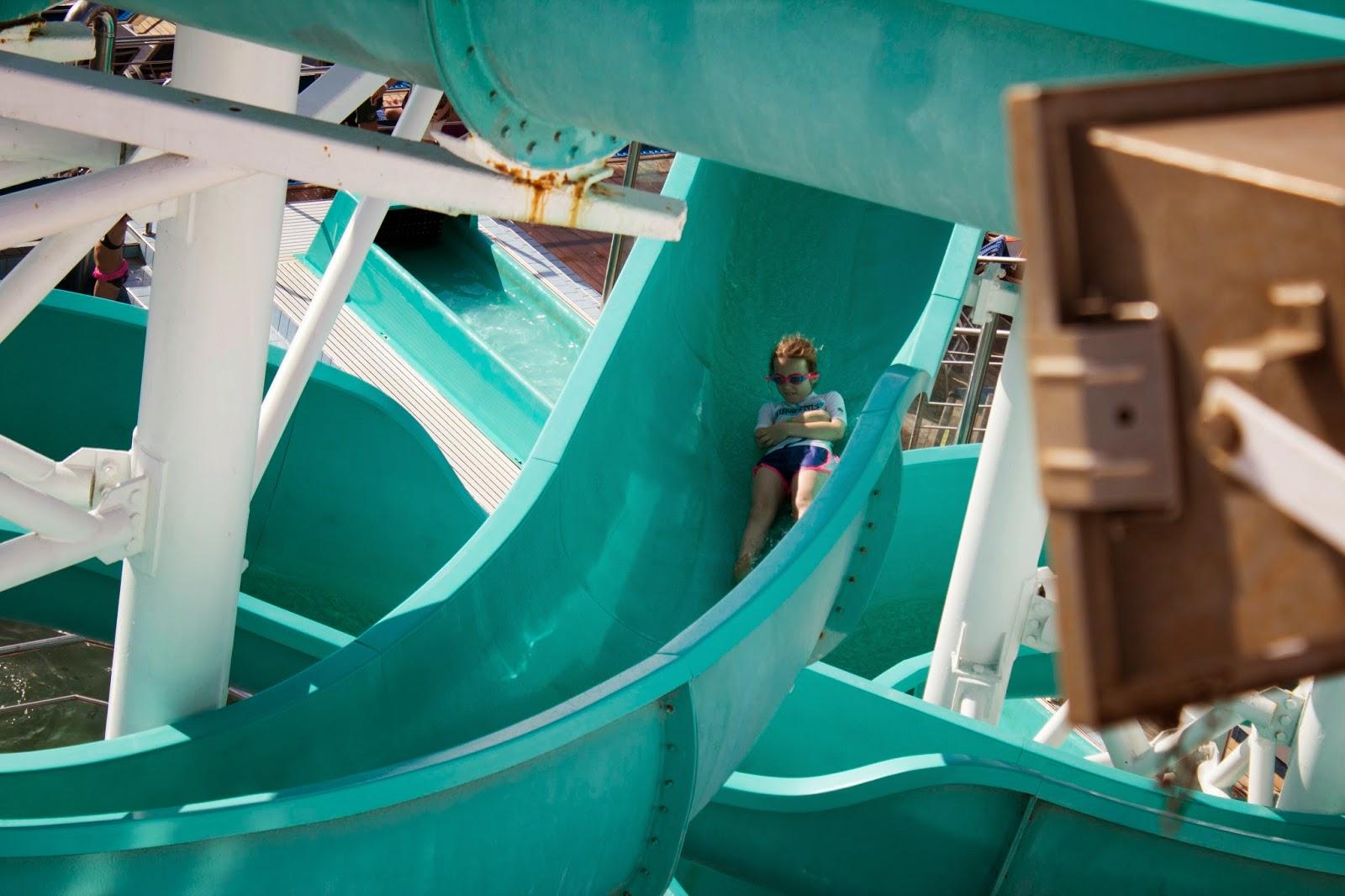 carnival water slide