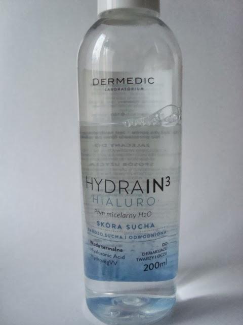 HYDRAIN3 HIALURO Płyn micelarny od DERMEDIC