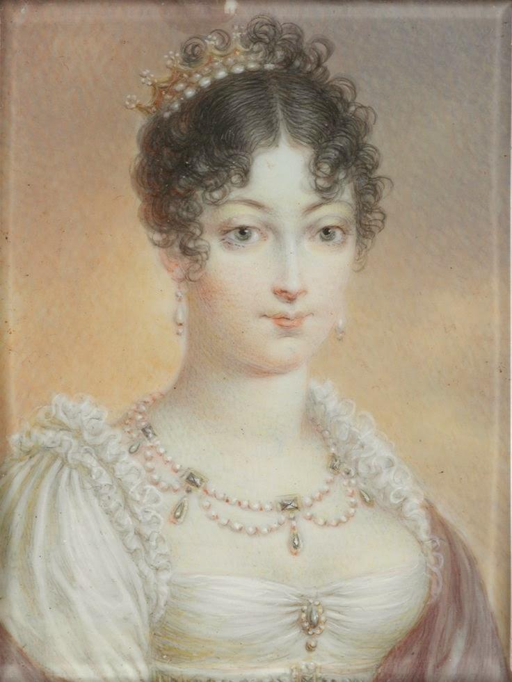peinados damas antiguas de 1810 - Los peinados en 1810 Fucsia