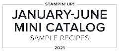 2021 Jan to June Mini Catalogue Recipes