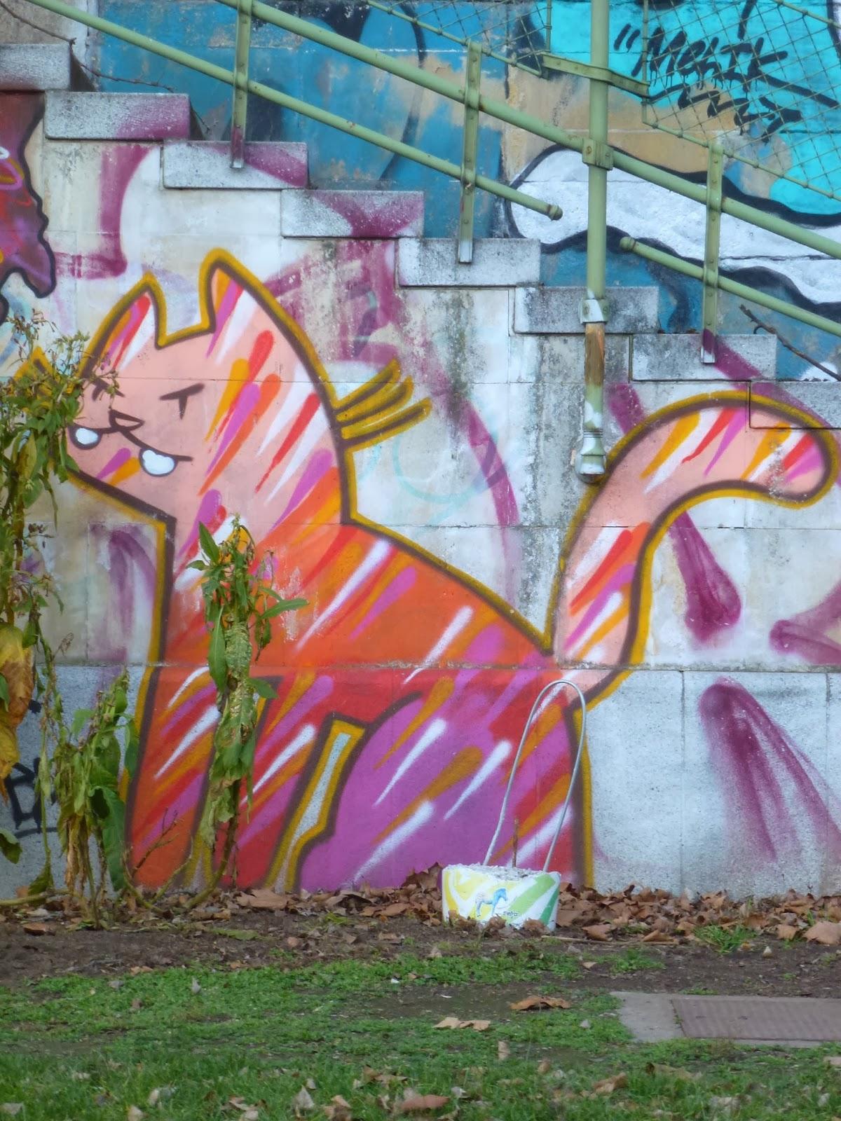 Streetart, Graffiti, Streetart