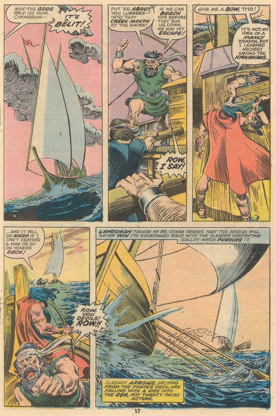 Conan the Barbarian (1970) Issue #58 #70 - English 12