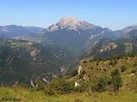 El Pedraforca des de la casa de Rocadecans. Autor: Ricard Badia