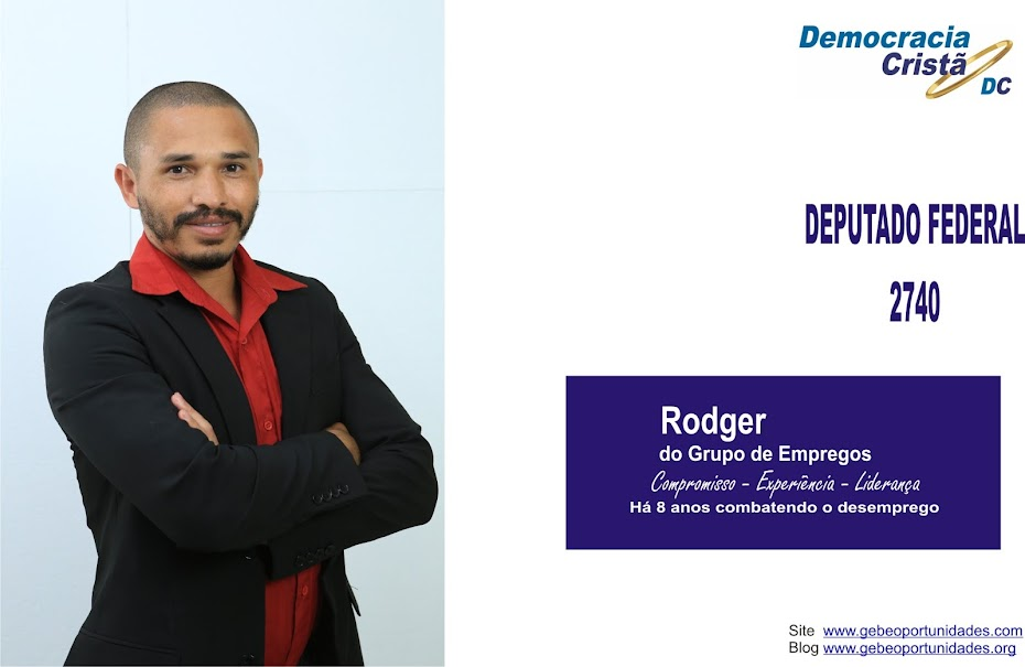 Rodger do Grupo de Empregos - GEBE