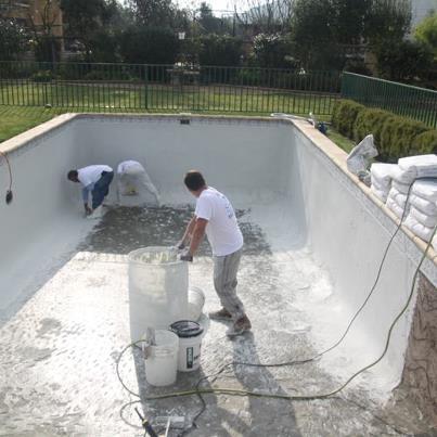 No m s pintura de piscinas s al revestimiento el - Pintura de piscina ...