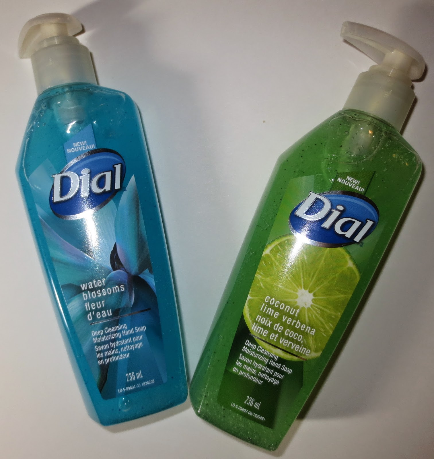 Dial Deep Cleansing Moisturizing Hand Soaps - Coconut Lime Verbena & Water Blossoms