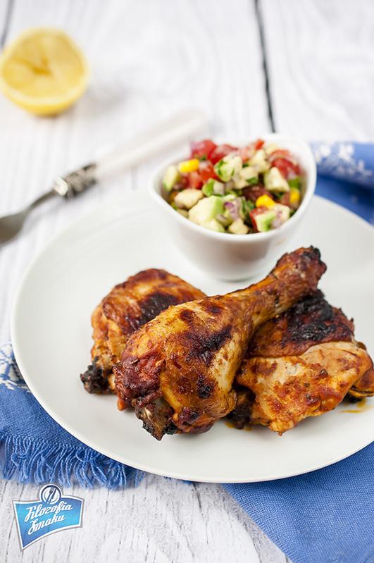 Kurczak w marynacie z pomidorów przepis