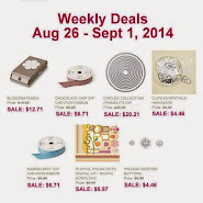 Items on Sale! Aug 26 to Sept 1