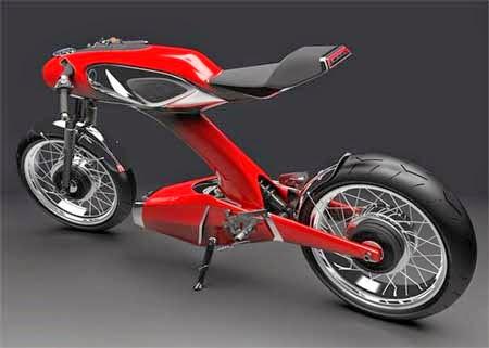 motor honda masa depan