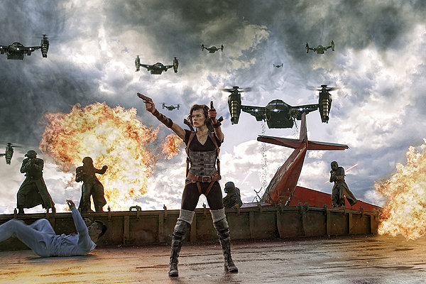 resident evil retribution, imax 3d,