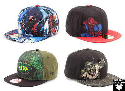 The Amazing Spider-Man New Era Hat Collection - Spider-Man and The Lizard Fitted Caps and Snapbacks