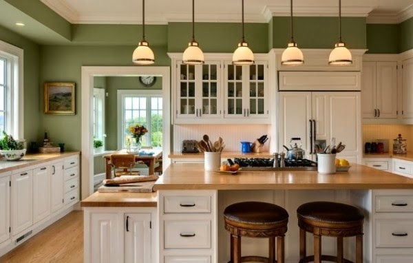 Light Orange Kitchen colors for kitchen. | interiors blog