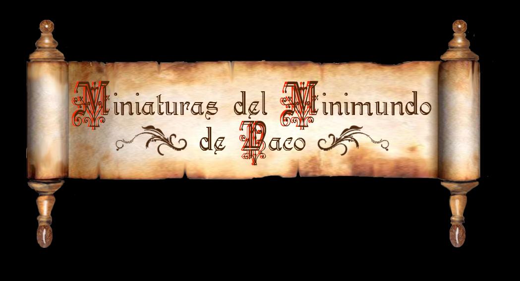 Miniaturas del Minimundo de Paco