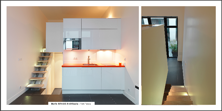 Photos s rie de 3 studios paris france photographe d for Studio amenagement interieur
