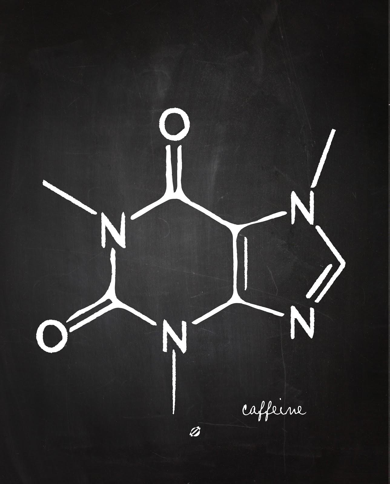 LostBumblebee ©2014 Caffeine Chemistry 101 FREE PRINTABLE