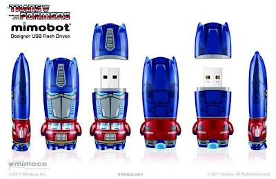 Transformers Mimobot USB Flashdrives by Mimoco - Optimus Prime