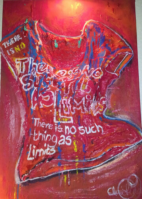 En av mina konstverk