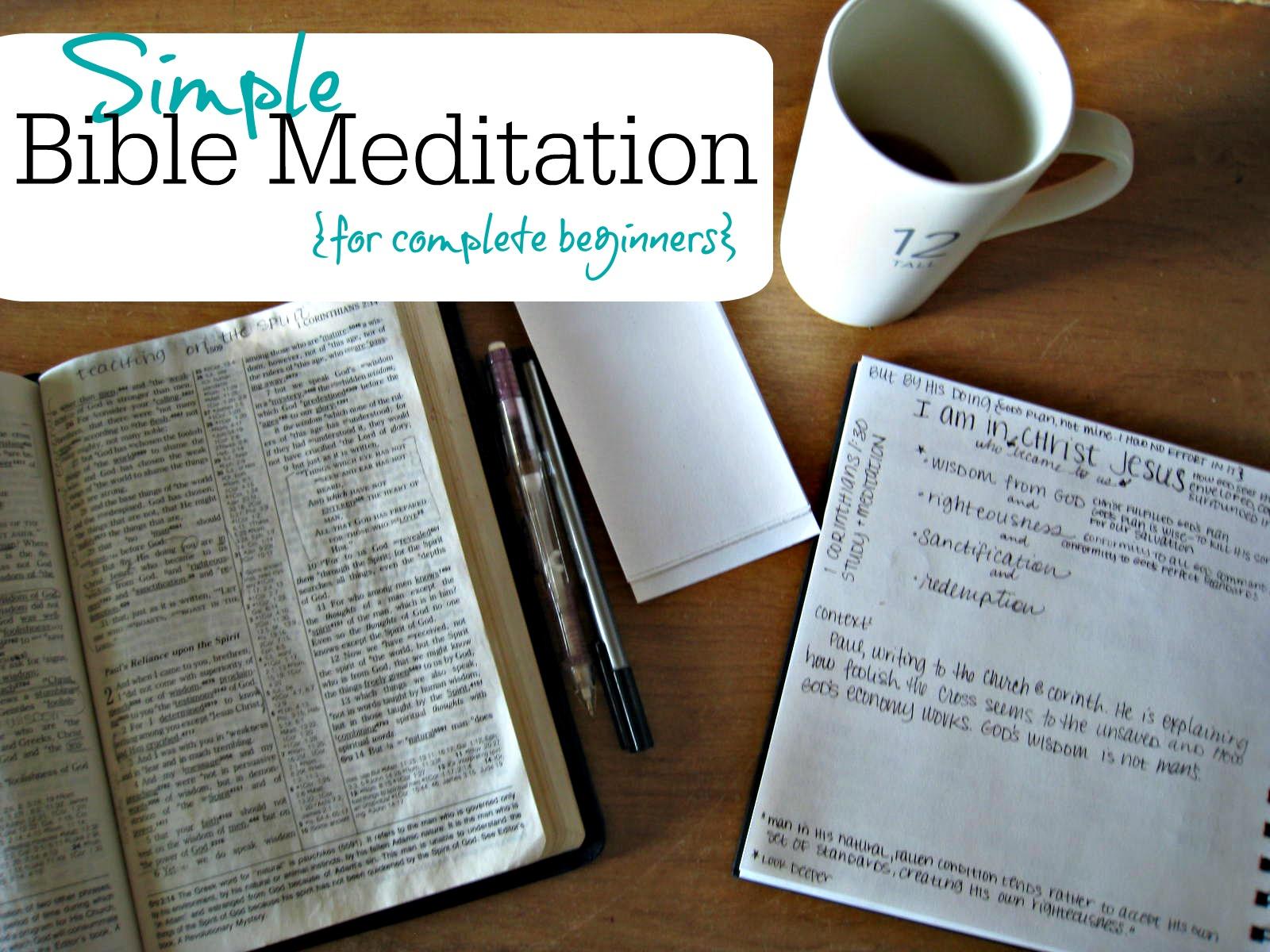 stone soup for five simple bible meditation for complete beginners. Black Bedroom Furniture Sets. Home Design Ideas