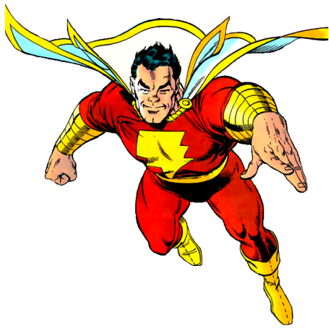 The REAL Captain Marvel