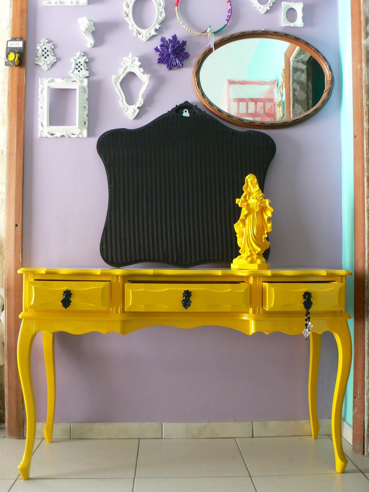 Artesanato De Madeira Paletes ~ Ateliando Customizaç u00e3o de móveis antigos Aparador Provençal Antigo