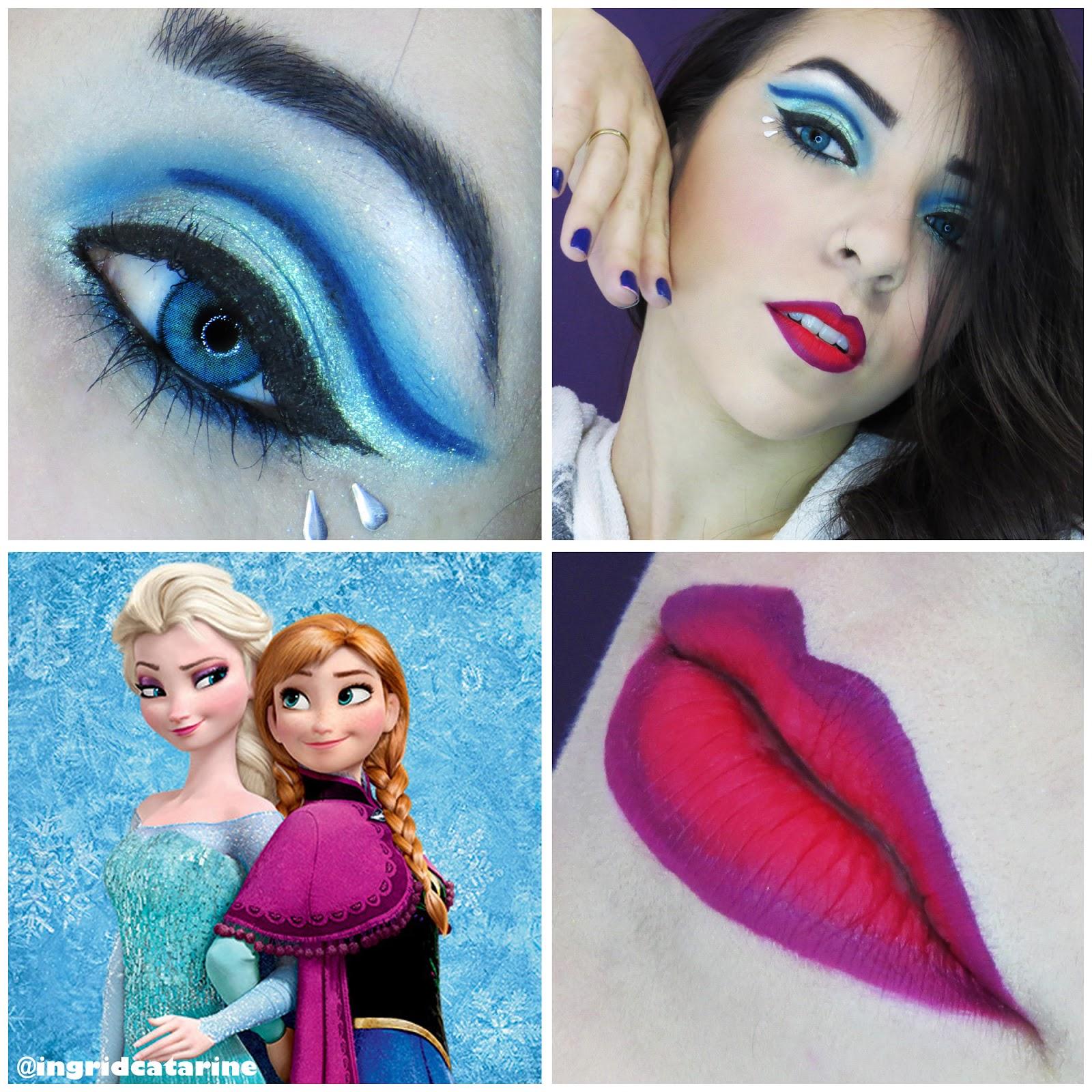 Maquiagem Frozen