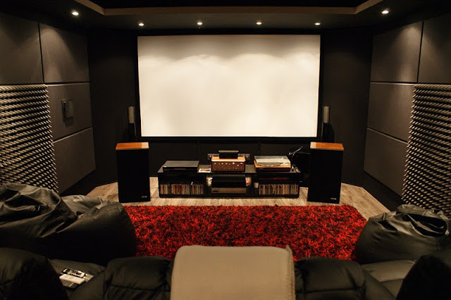 Como fazer uma sala de cinema em casa aberto at de - Sala cinema in casa ...
