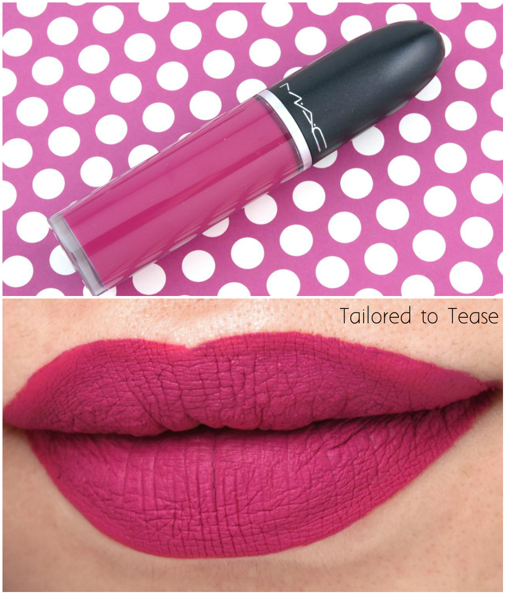 Conhecido MAC Retro Matte Liquid Lipcolor Collection: Review and Swatches  ZX52
