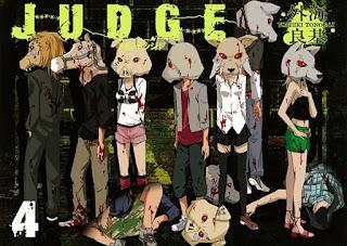 Judge Tome 4 - Yoshiki Tonogai