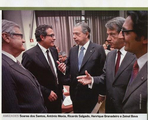 Alexandre Soares dos Santos, António Mexia, Ricardo Salgado, Henrique Granadeiro, Zeinal Bava Luís Filipe Vieira