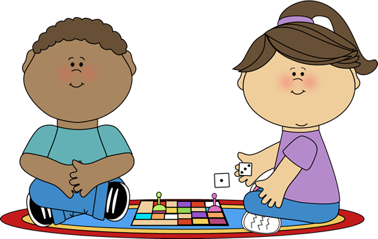 Kids Playing Card Games Clip Art Hard time playing games.